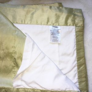 "82"" Peri light yellowish green curtains - set of 2"